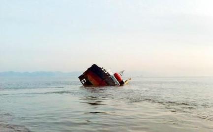 浙江龙山船厂在修船进坞时沉没