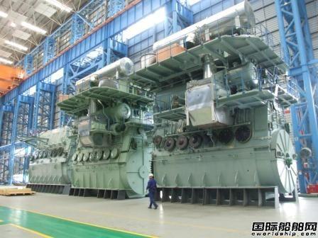 国内首台g系列船用低速柴油机签约