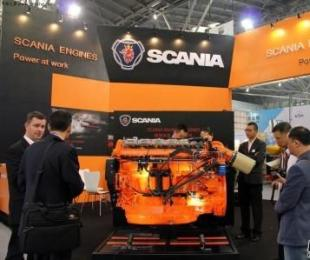 Scania全新13升船机中国首展