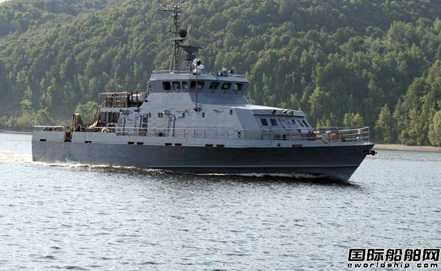 """俄罗斯海军建造""""鸦雏""""型快艇"""