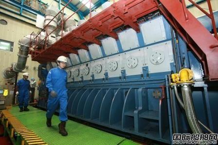 现代重工交付H35/40GV气体机