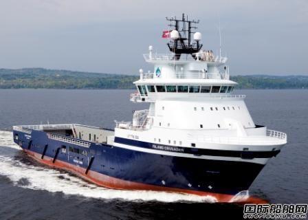罗-罗交付首艘气体动力海工船