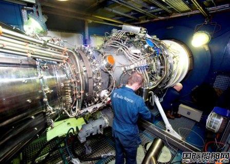 罗-罗MT30燃气轮机首次配套亚洲舰船