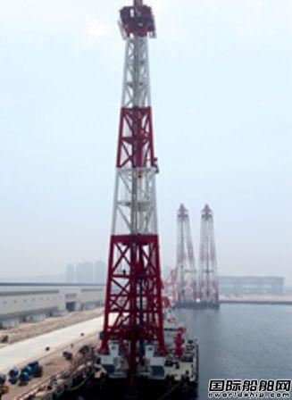 青岛武船交付百米桩架打桩船
