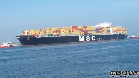 全球集装箱船闲置运力达76.2万TEU