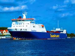 TRANSPAPER号林产品运输船
