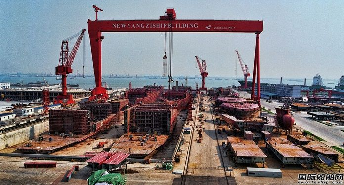 5.3万吨散货船价格_新扬子造船获2艘8.2万吨散货船订单-兰格钢铁网