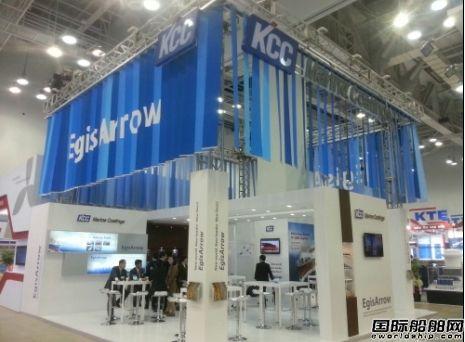 KCC展示多种船舶涂料涂层产品