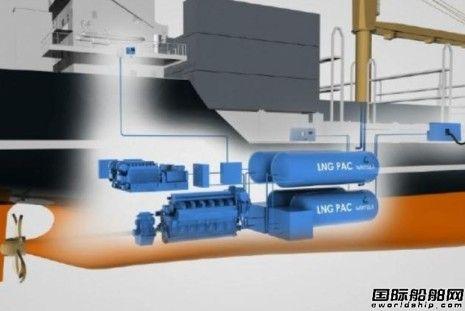 LNG燃料加快进入船用燃料市场