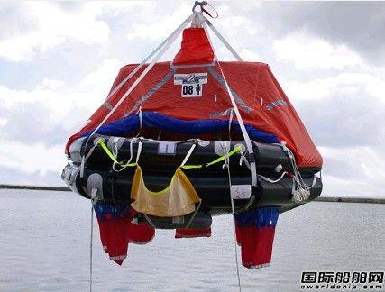 Survitec推出新型吊放式救生筏