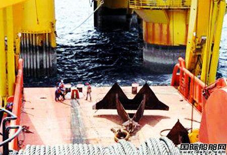 罗罗获为4艘大型锚处理船配套甲板机械