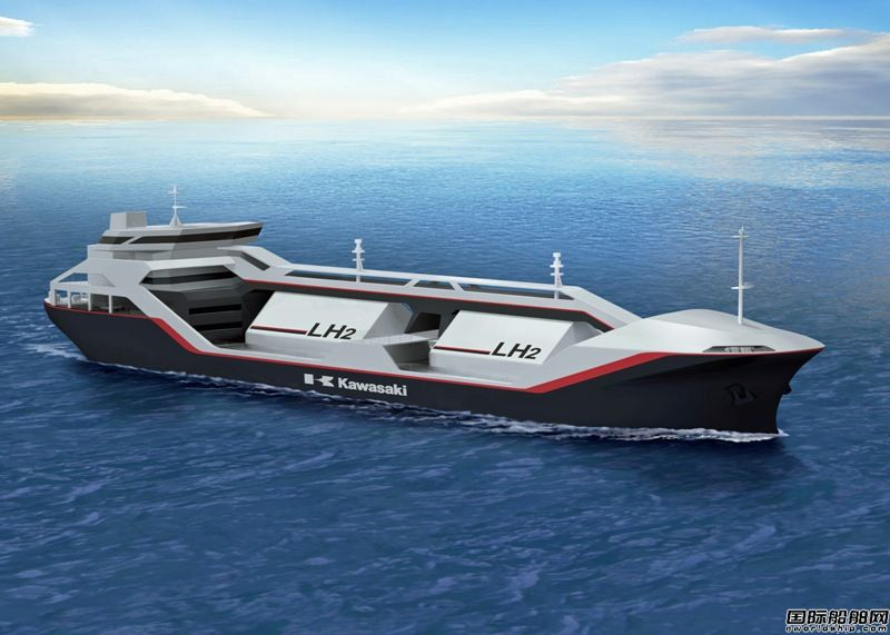 川崎重工设计全球首艘液态氢运输船