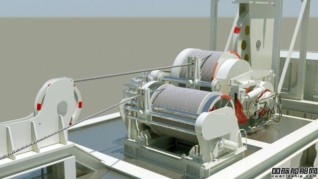 配备一个小型减压舱,3名潜水员控制台,2台a字架ag国际厅外挂有吗及收放系统,用于从