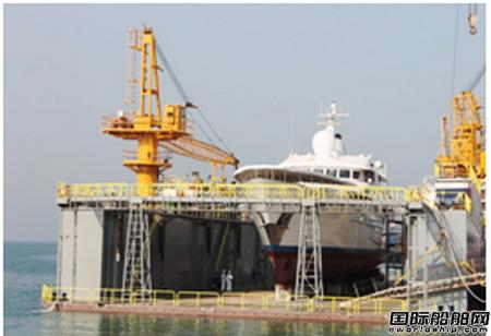 阿布扎比新修船厂投入运营