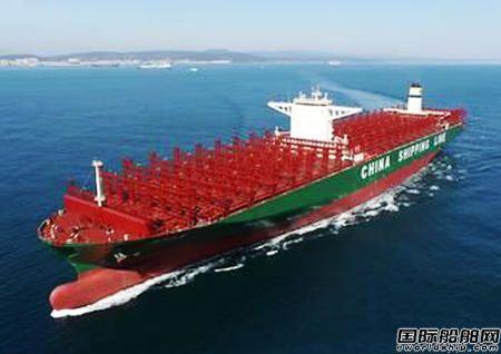 Becker为世界上最大的集装箱船配套船舵