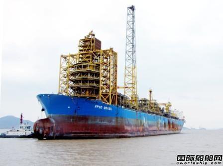 长宏国际拆解一艘浮式生产储油船