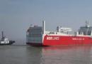 LNG动力滚装船挪威水域搁浅