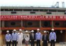 中航威海船厂64000吨散货船2#船铺龙骨