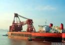 金海船务成功维修世界第一起重船