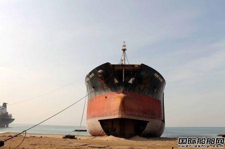 挪威船东呼吁停止沙滩拆船