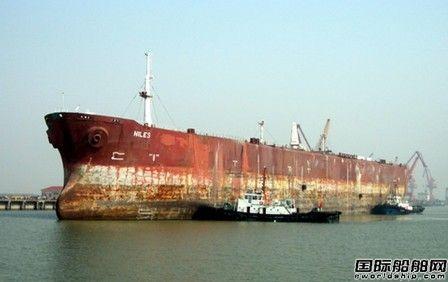 江苏拆船完成量全国第一