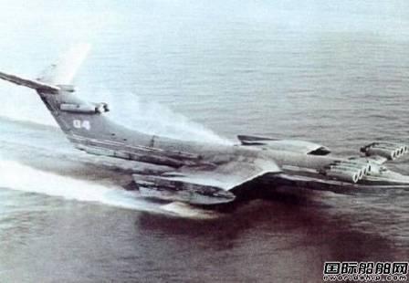 俄称中国对俄新型地效翼船很感兴趣