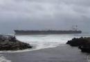 """""""Tokyo Spirit""""轮在葡萄牙海域搁浅"""