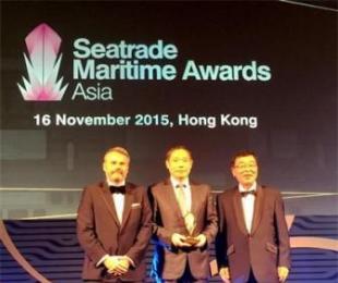 扬子江船业获Seatrade亚洲海事奖最佳船厂