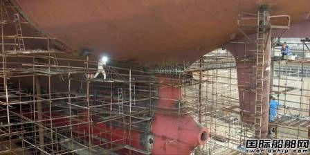中国船厂订单量骤降 60%