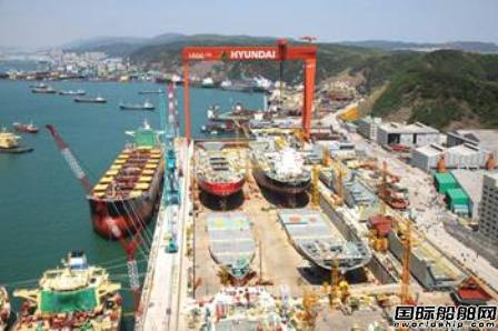 韩国船企11月接单量创6年来新低