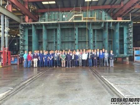 Conrad船厂即将下水一艘LNG燃料加注驳船