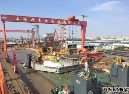 山东海工首座CJ46自升式钻井平台完成升降试验