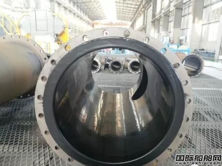 大船集团成功研发船舶管系聚乙烯涂塑新技术