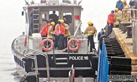 香港发生撞船夺命意外