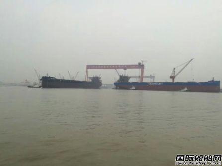 泰兴海事处3天完成4艘大船作业监管任务