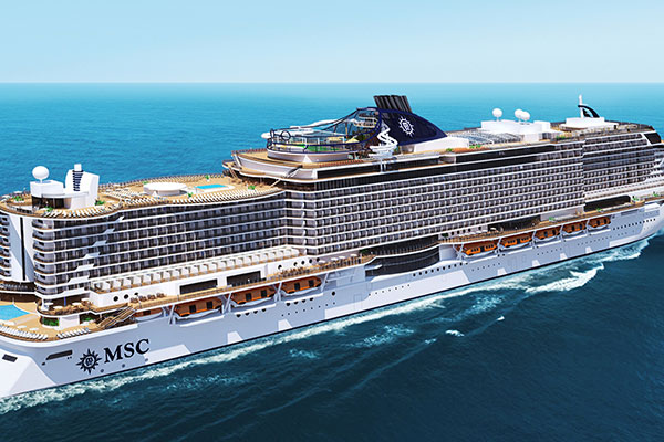 "Fincantieri建造""MSC Seaside""号邮轮"