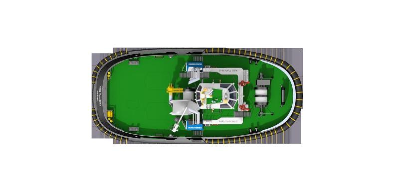 荷兰达门船厂推出新型ASD拖船