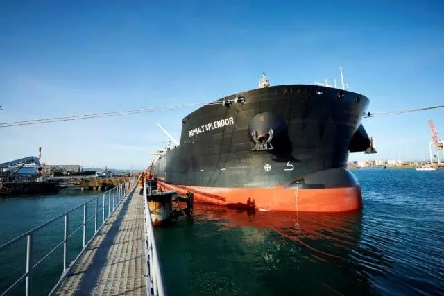 SDARI设计37000吨沥青船完美首航