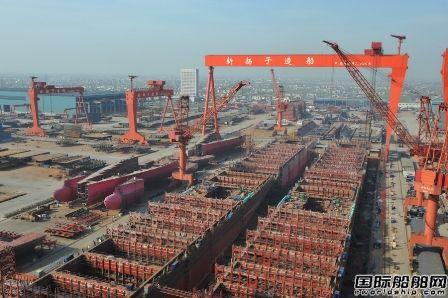前4个月中国船企接单量一国独大