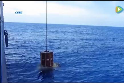"""深水综合勘察船""""海洋石油701""""海上试验"""