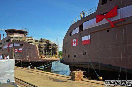 BC Ferries命名2艘Salish级渡船