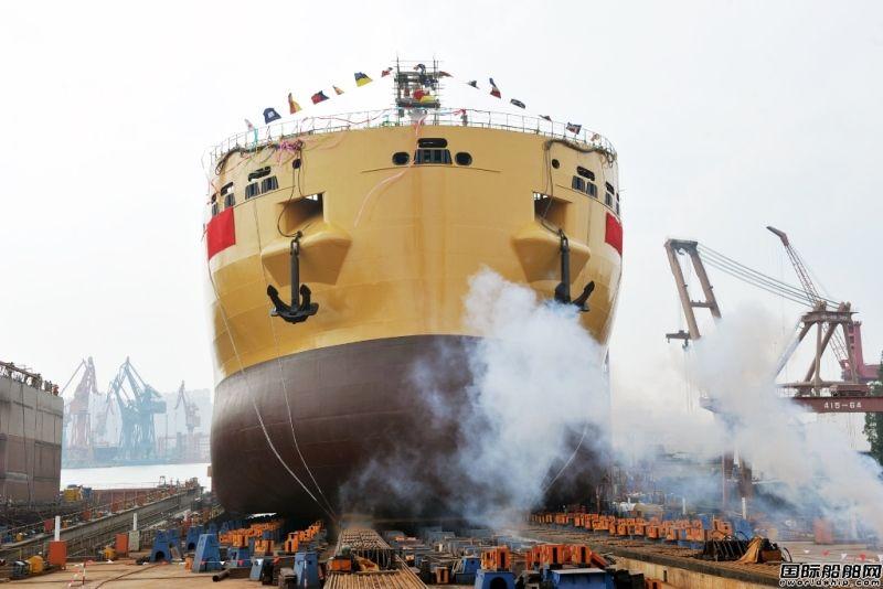 沪东中华建成全球最先进化学品船