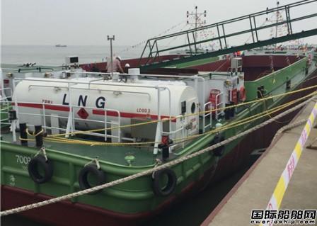 宏华海洋交付首制LNG动力船