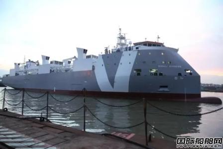 广东中远船务建造牲畜船获船东盛赞