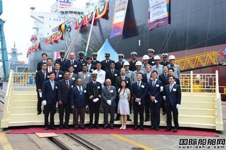 """""""Oriental Jubilee""""号LPG船入级DNV GL"""
