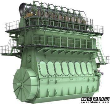 现代尾浦建造散货船配套MAN双燃料低速机