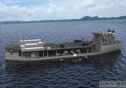 NASSCO为美国海军建造第2艘远征平台铺设龙骨