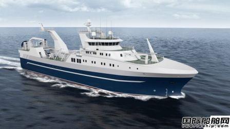 瓦锡兰新推船尾拖网渔船设计