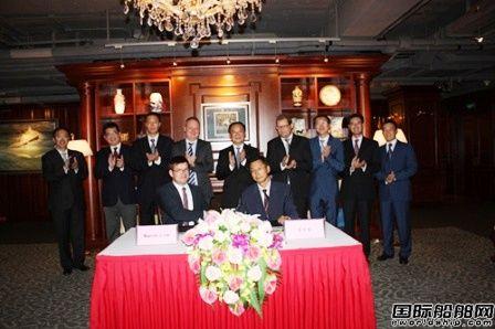 中国船级社与马士基航运签署合作谅解备忘录
