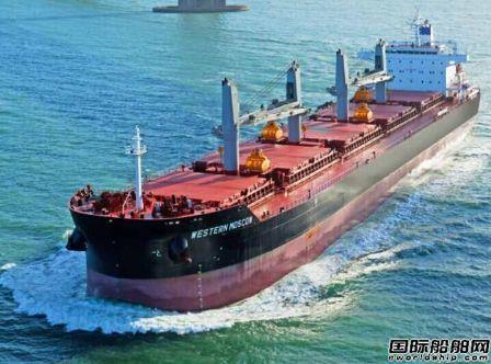 超灵便型散货船市场正在复苏